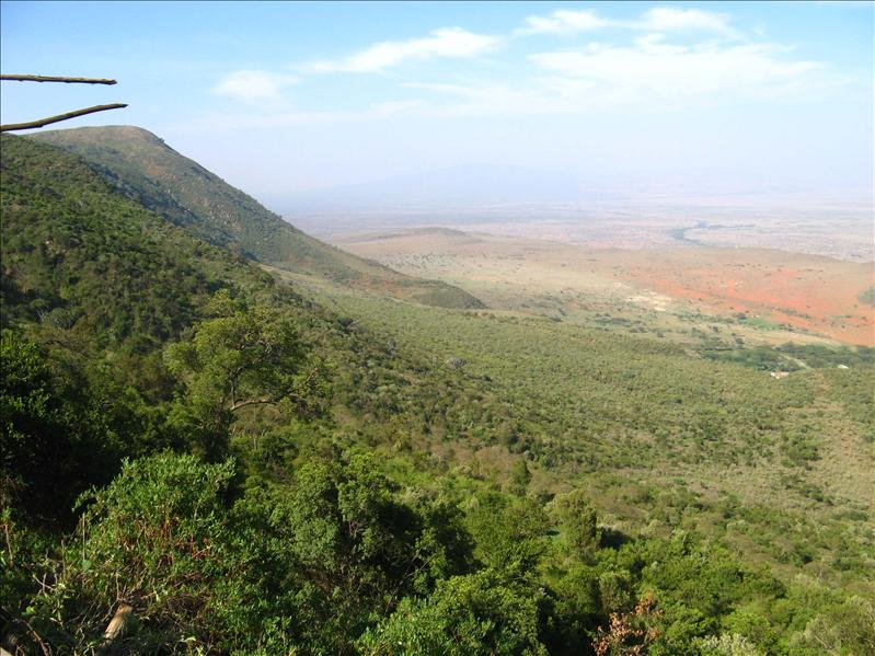 View of the Rift Valley