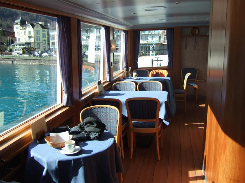 The Upper Deck of the 'Interlaken'