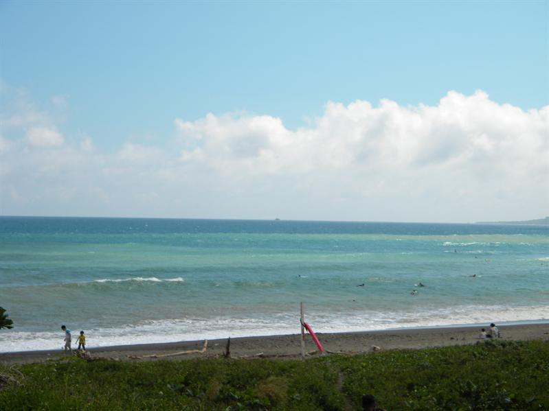 墾丁港口漁港公園海景