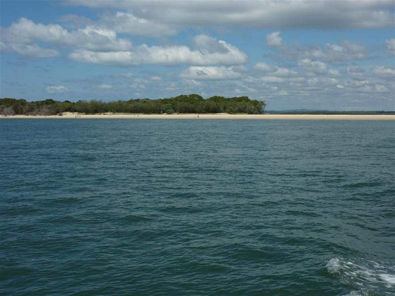 Fraser Island from the ferry
