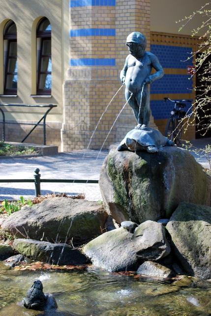 Amusing fountain