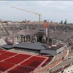 .. the Arena prepared for Aida.