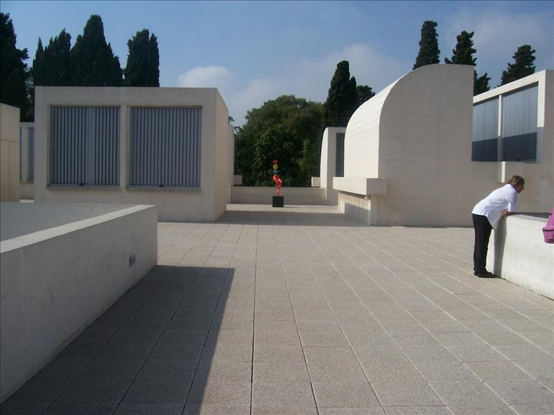 Barcelona. Mirò foundation
