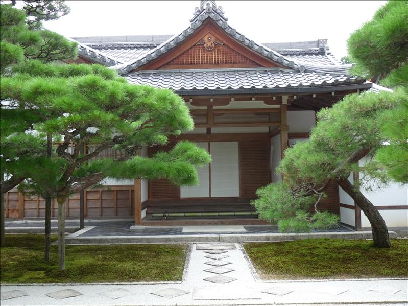ginkakuji temple building