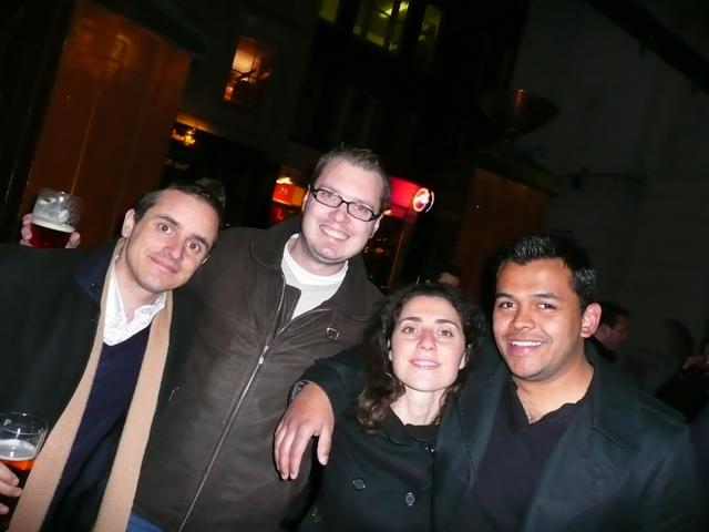 Daniele, Michael, me, Juampa