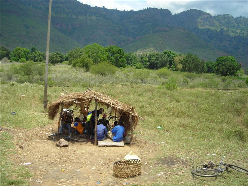 bus stop•Tanzania
