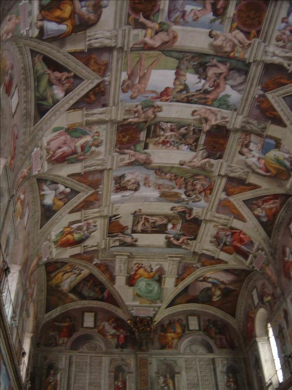 Sistine Chapel(Michelangelo's paintings