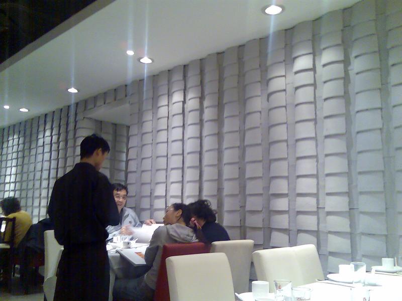 菜馆里面的装修风格也很特别
