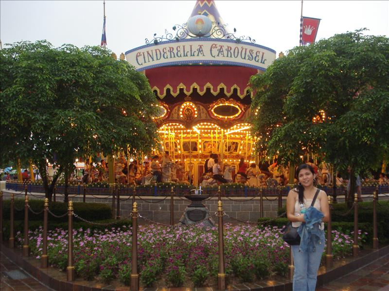 Cinderella's carousel...