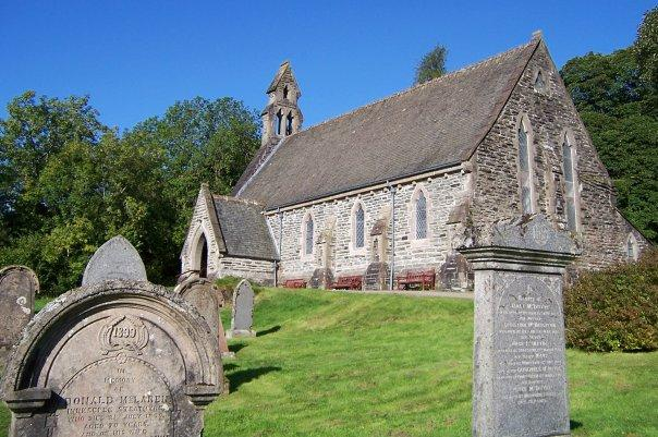 BALQUHIDDER CHURCH, SEPT 2008