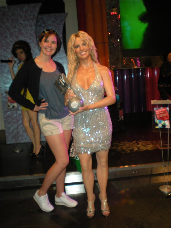 Britney Spears, Madame Tussaude's Wax Museum - 20th May
