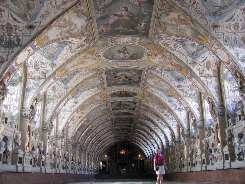 One of the rooms of the Residenz.