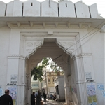 Entrance to Udaipur - No buses allowed