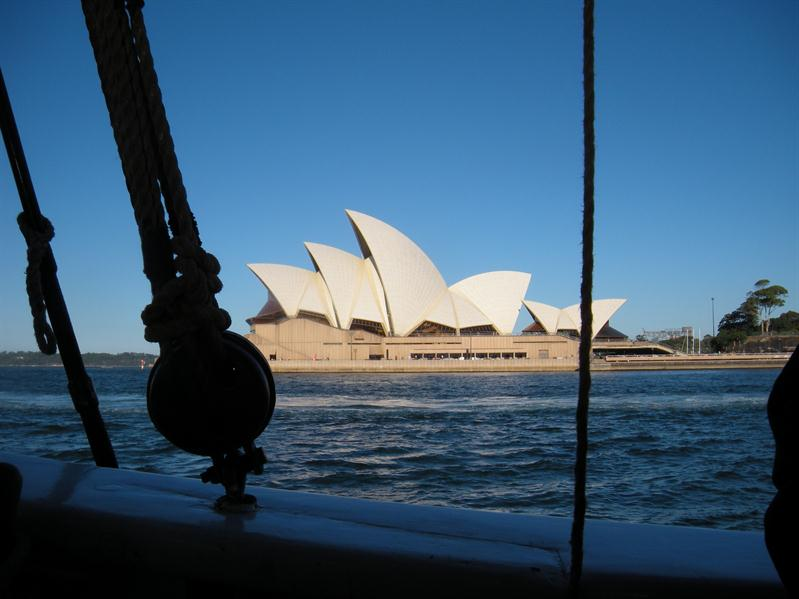 The Opera House from the Southern Swan