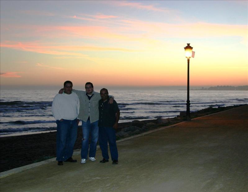 3 amigos in Marbella...