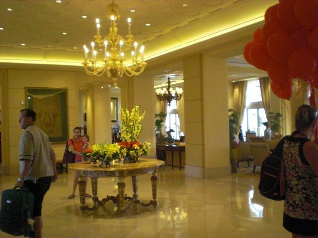 Ritz lobby.  Oooohhhh....