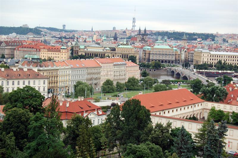Castel Prague from Monastary