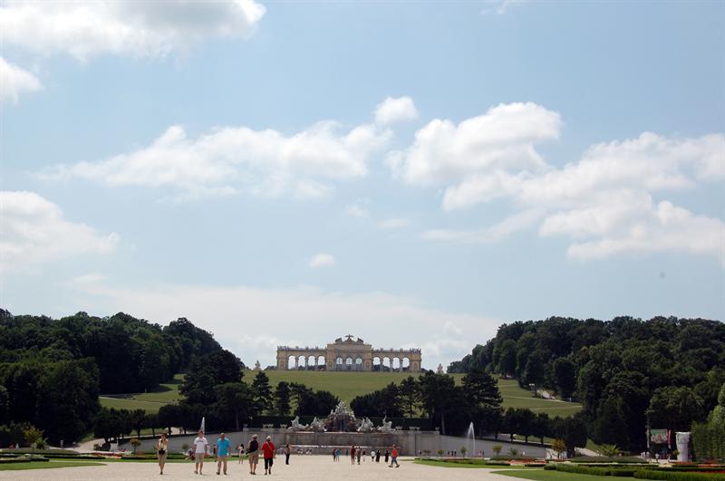 Schonbrunn Garden  - Vienna