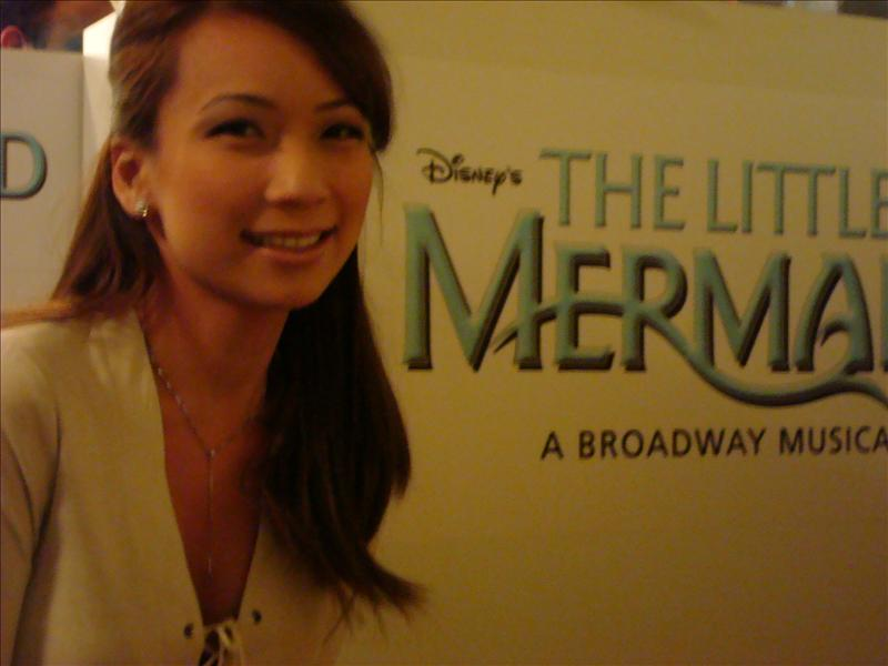 """A-bbey A-riel""  the little mermaid"