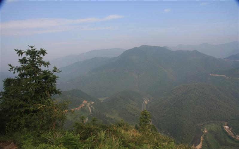 QuZhou, FuGai Mountain, China