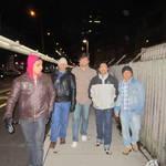 Zurich  street walk at midnight