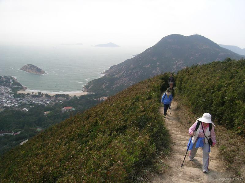 A view of D'Aguilar Peak (Hok Tsui Shan) 遠眺 325 米高的鶴咀山