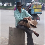 Roadside seller, Bangalore