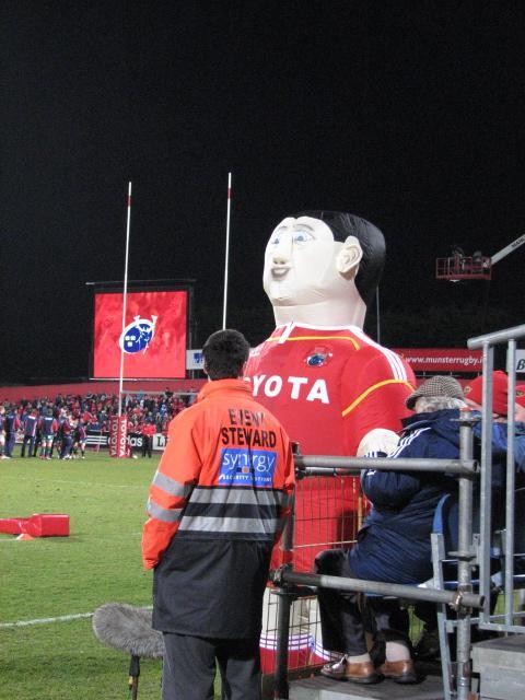 Munster mascot