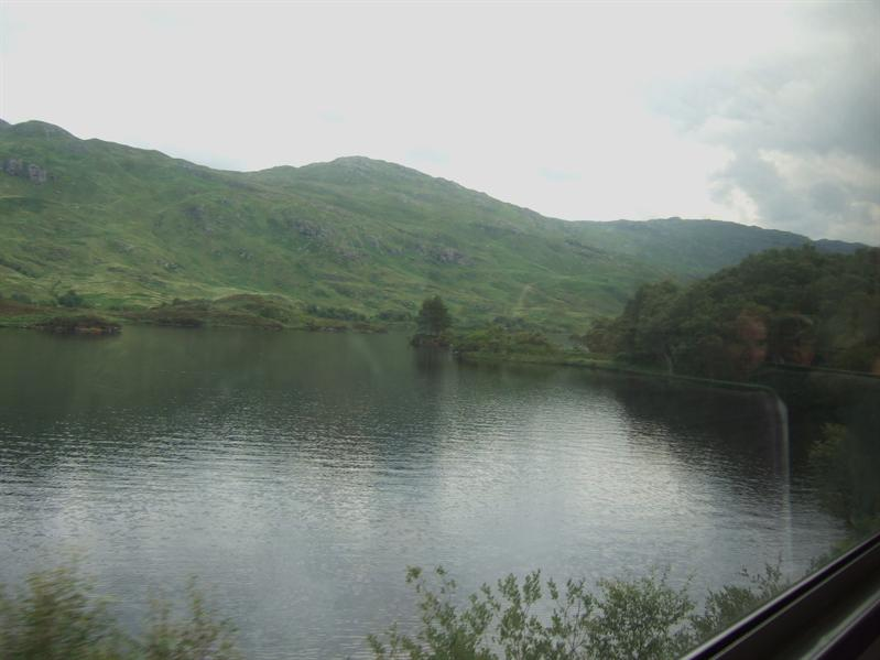 En-Route to Mallaig by Train