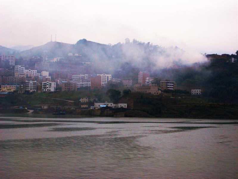sailing down the yangtze