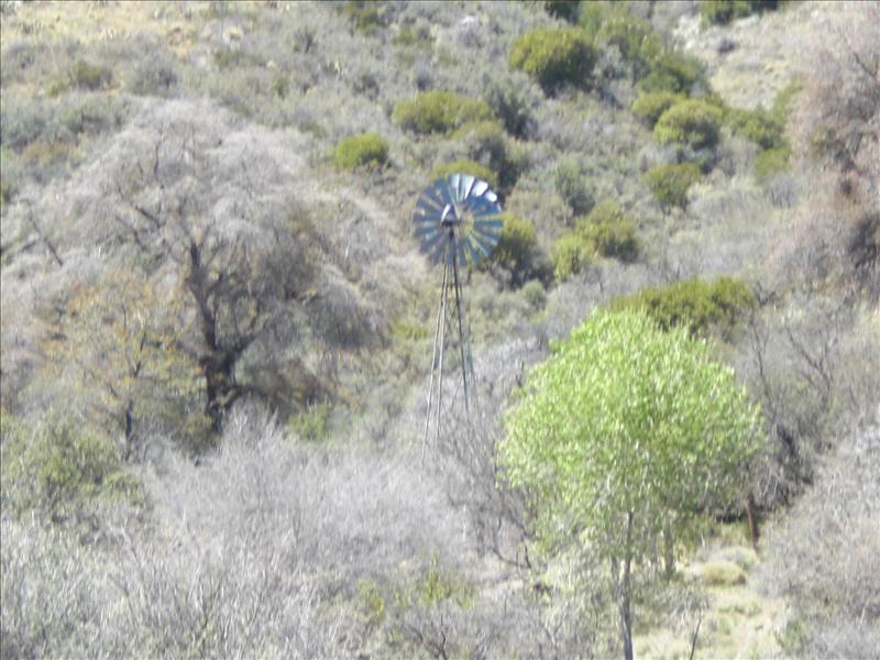 Windmill in the middle of nowhere