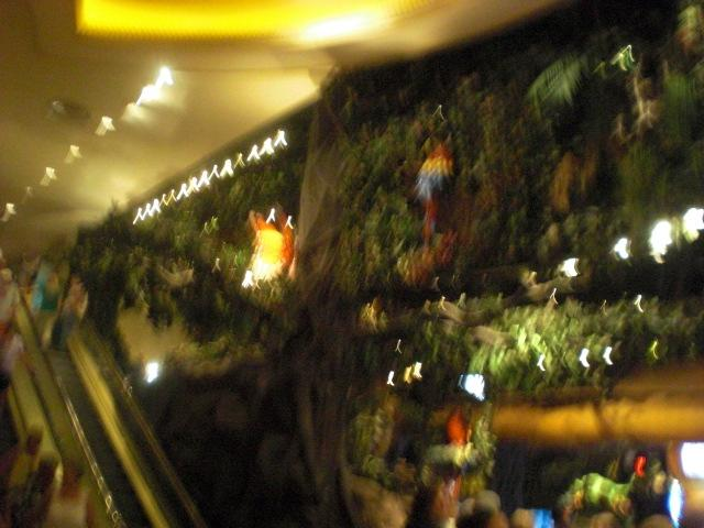 Rainforest Cafe in MGM Grand