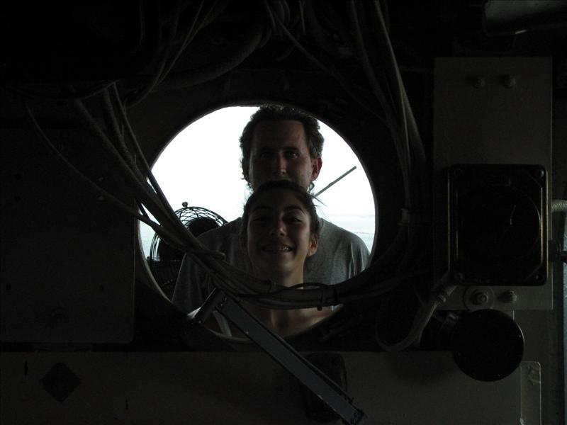 Robert and Erika - USS Lexington