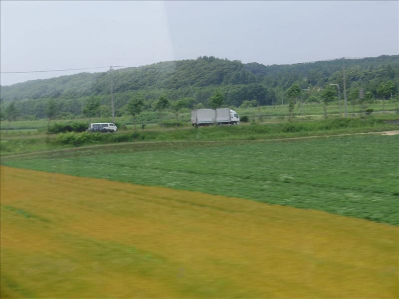 札幌火車窗外5