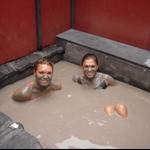 The mud bath!