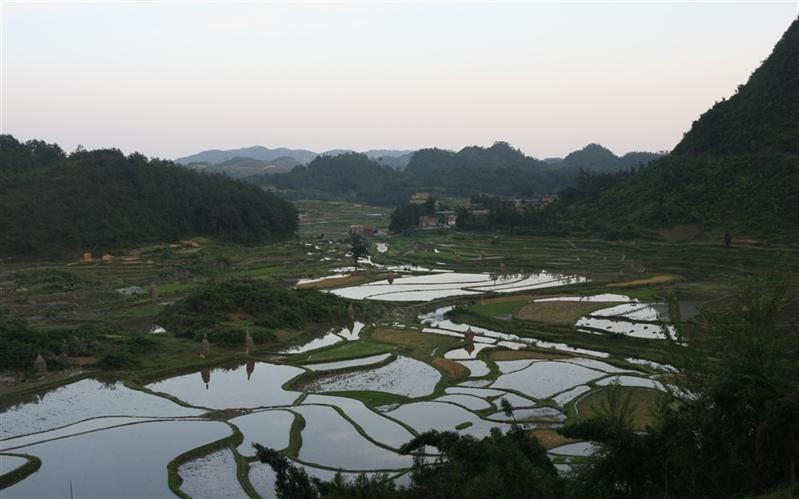 ShuiZhuZhai, GuiZhou, China