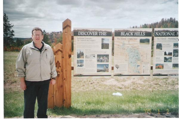 Me in the Black Hills