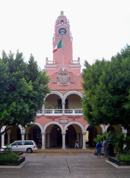 MERIDA, YUCATAN - PLAZA GRANDE - PALACIO MUNICIPAL