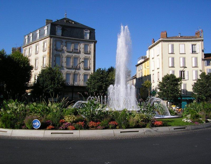Millau - the town centre....