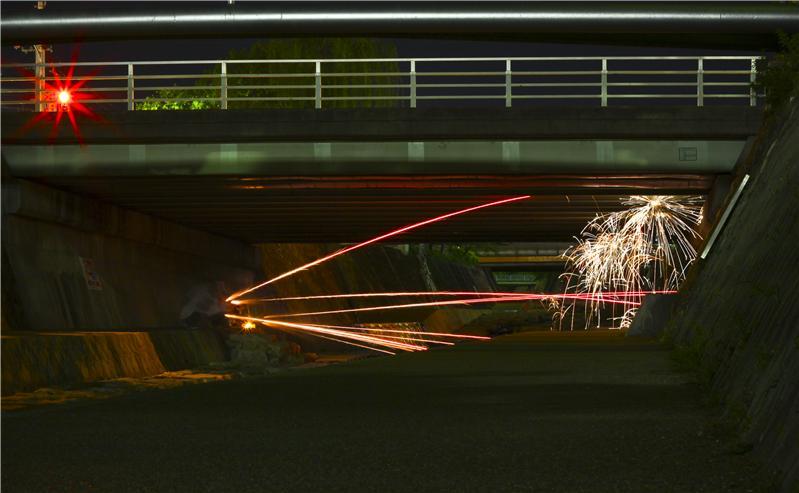 Fireworks in Nada, Kobe