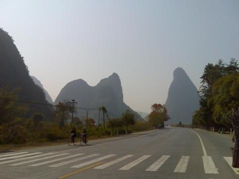 Cycled in Yangshuo