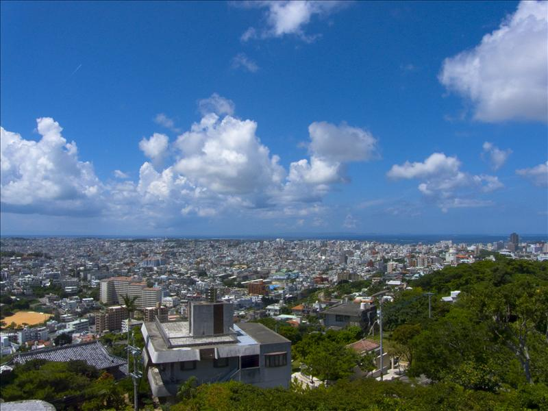 Naha from Shuri Castle