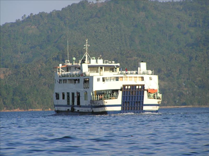 Ferry from Bitung to Morotai