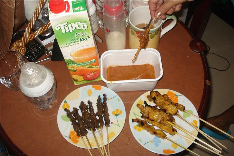 traditional food (satai)