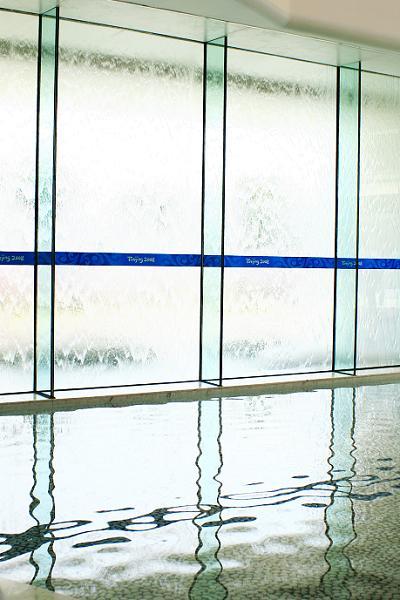 水立方水幕