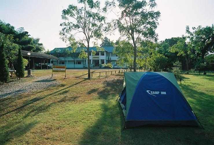 my tent and Prangthong mansion