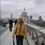 london - millenium bridge