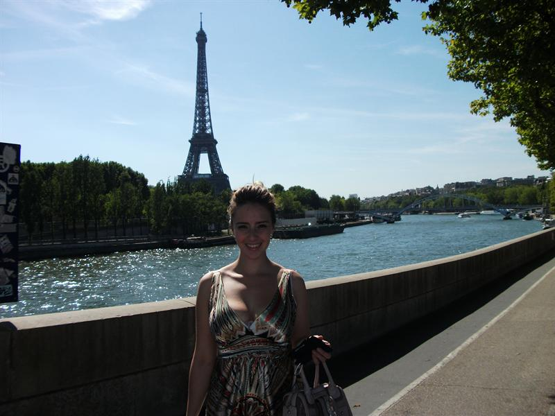 Eiffel Tower, River Seine and Me.