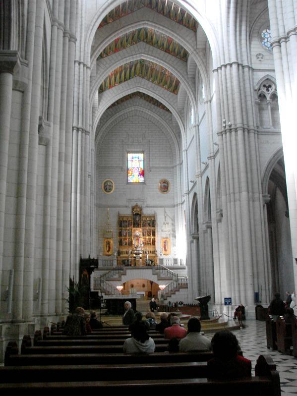 Inside Catedral de la Almudena