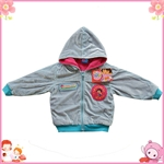 Product name :3-6-year-old Dora blue domesticated hen coat jacket Goods Model :3-6Y size table Goods Unit: single Products: 105 MOQ: 4 Suggested retail price: USD 15 Wholesale price: USD 5.5